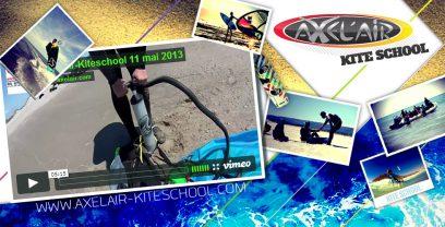 Axel Air, une école de Kitesurf sur le Festikite