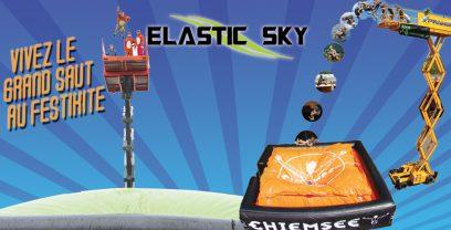 Un Big Air Bag sur le village du Festikite