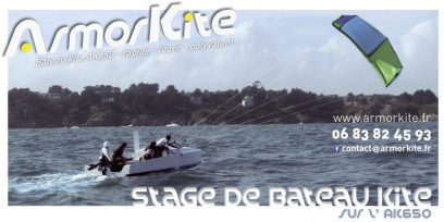 Découvrez le kite tender et le kite boat!!